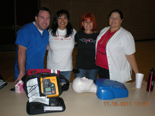 CPR Team at Mira Monte High