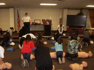 Kids CPR Training