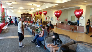Community Heart Screening reception area